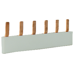 EMAT doorverbinder 6-voudig grijs