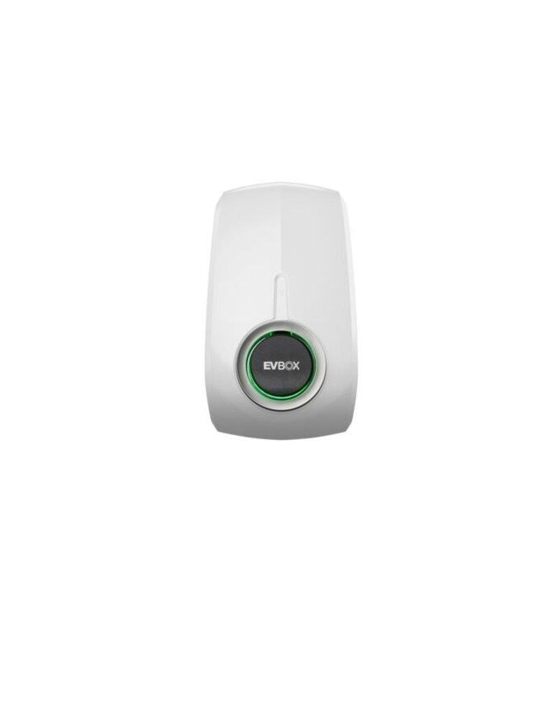 EVBox Elvi laadpaal met Mennekes WCD - 3.7kW tot 22kW - Polar White - (WIFI)