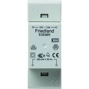 Honeywell Home - Friedland E3538N FRIE BELTRAFO 8-12V 1.5A