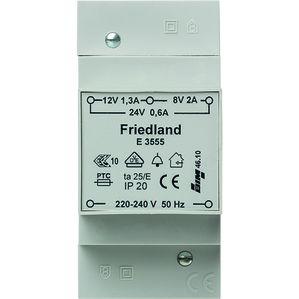 HONEYWELL E3555 beltransformator 230V 8V 12V 24V