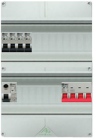 EMAT waterdichte groepenkast 4 groepen 250x370 (BxH) 3 fase HFD IP552015022