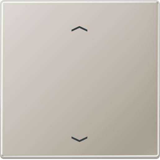 """JUNG LS990 stuurafdekking standaard """"pijlen"""" - edelstaal (ES 1700 P)"""