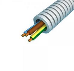 Flexibele buis VD draad 3x2,5 en 1x1,5 mm - 16 mm per rol 100 meter