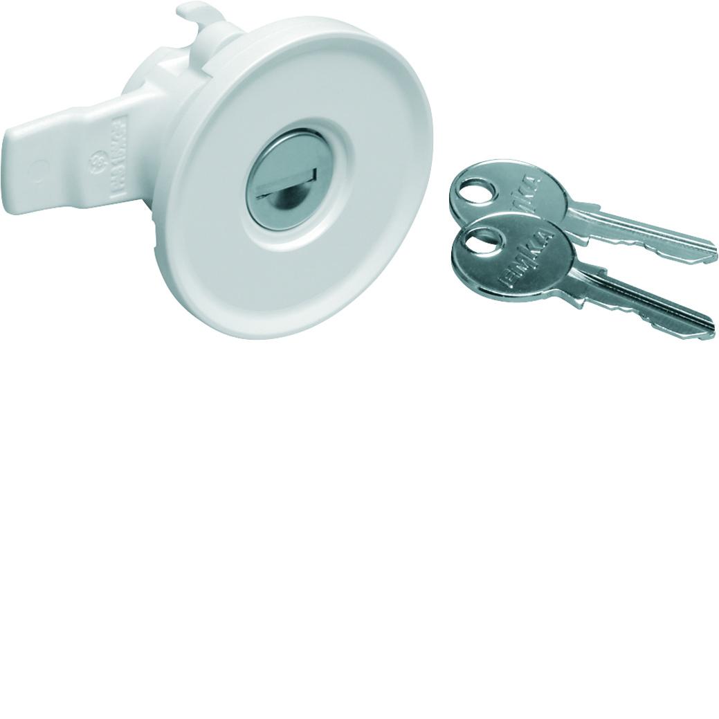 Hager sluiting IP44/54 met cilinderslot (1242EFZ597N)