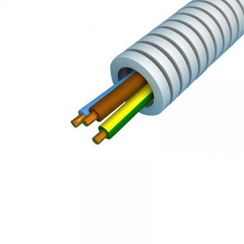 Snelflex Flexibele buis VD draad 3x4 mm - 20 mm rol 100 meter