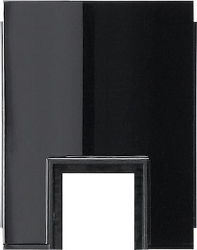 Gira Studio adapter kabelinvoer 1-v kanaal 15x15mm zwart