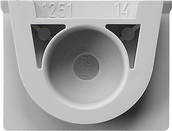Gira Afsluiting kabelinvoer 1-v gesloten SW opbouw grijs
