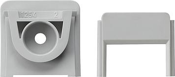 Gira Adapter voor kabelinvoer 1-voudig 15x30 mm opbouw grijs