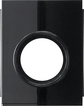 Gira Studio adapter kabelinvoer 1-v buis M20 zwart