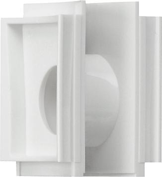 Gira Studio verbindingsstuk opbouw-behuizing zuiver wit