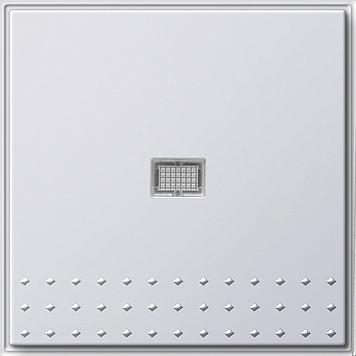Gira TX_44 wisseldrukcontact recht met controlevenster (SW IB) zuiver wit