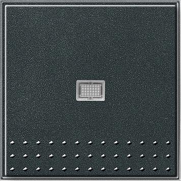 Gira TX_44 wisseldrukcontact recht met controlevenster (SW IB) antraciet