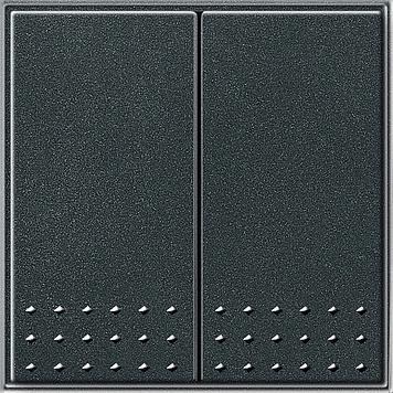 Gira TX_44 serie tastschakelaar antraciet