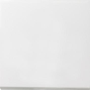 Gira F100 tastschakelaar uit-wisselschakelaar zuiver wit