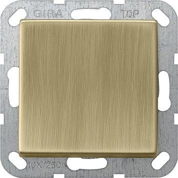 Gira kruisschakelaar - systeem 55 brons (0127603)