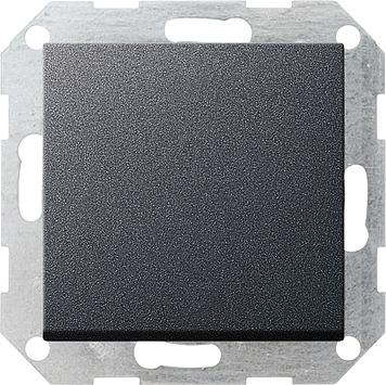 Gira drukcontact wisselcontact - systeem 55 antraciet (13028)