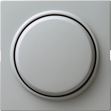 Gira S-color wisseldrukcontact met wip en afdekking 1-polig grijs