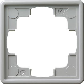 Gira S-color afdekraam 1-voudig grijs