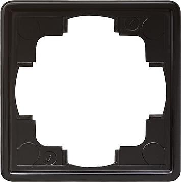 Gira S-color afdekraam 1-voudig zwart