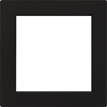 Gira S-color adapterraam vierkant 50x50mm zwart