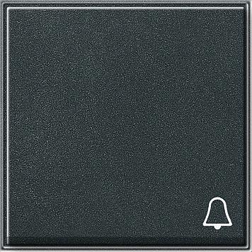 Gira TX_44 wip met symbool bel (SW IB) antraciet
