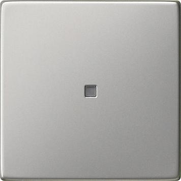 Gira wip met controlevenster - systeem 55 edelstaal (0290600)