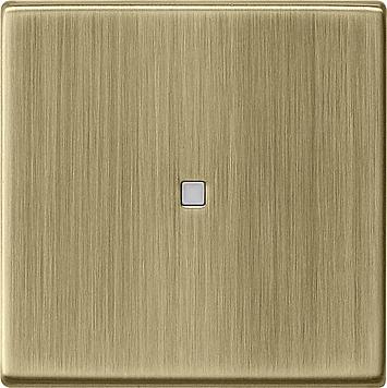 Gira systeem 55 wip met controlevenster brons