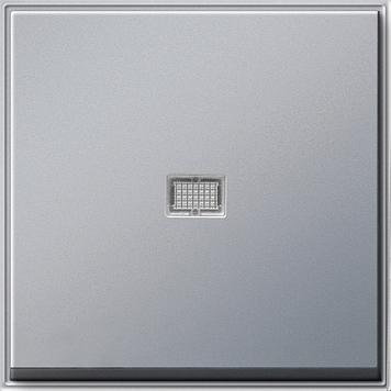 Gira TX_44 Wip met controlevenster (SW IB) aluminium
