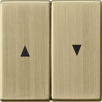 Gira wip 2-voudig met pijlsymbool - systeem 55 brons (0294603)