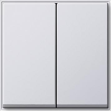 Gira TX 44 schakel/druk wip 2-voudig (SW IB) zuiver wit (029566)