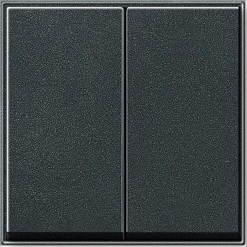 Gira TX 44 schakel/druk wip 2-voudig (SW IB) antraciet (029567)