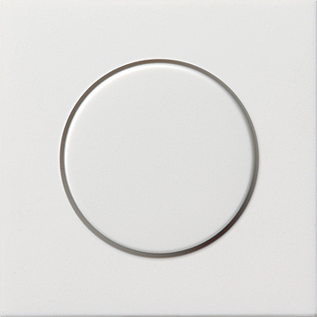 Gira F100 Afdekking voor dimmer en potentiometer zuiver wit