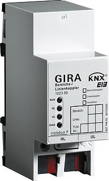 Gira Bereik-/lijnkopp. lijnversterker KNX DIN-rail