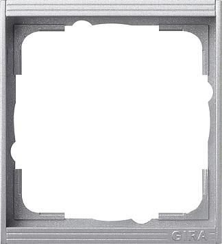 Gira Event tussenraam 1-voudig aluminium