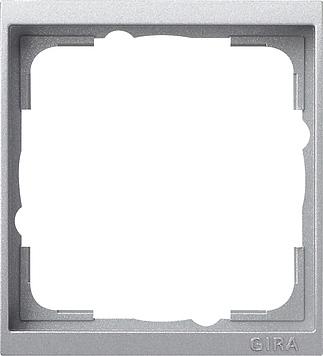 Gira Event tussenraam 1-voudig clear aluminium