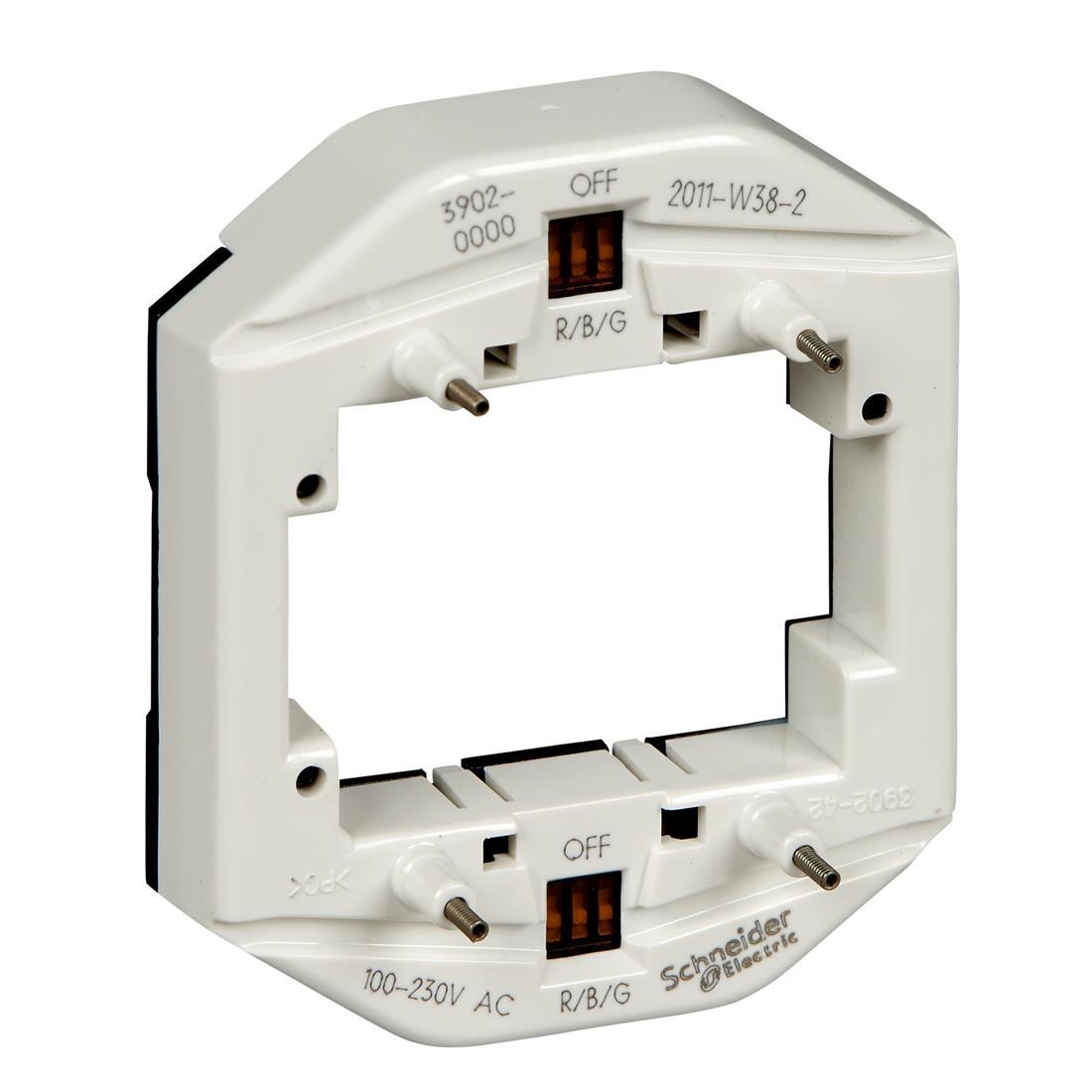 Schneider-Merten LED verlichtingsmodule voor dubbele schakelaar 100-230V - multicolor (MTN3902-0000)