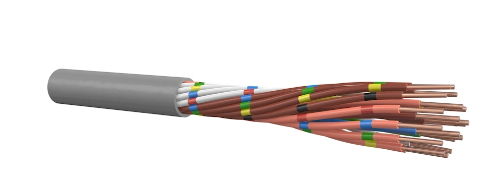 Signaalkabel HH-MBZH 6x0,8 mm per meter