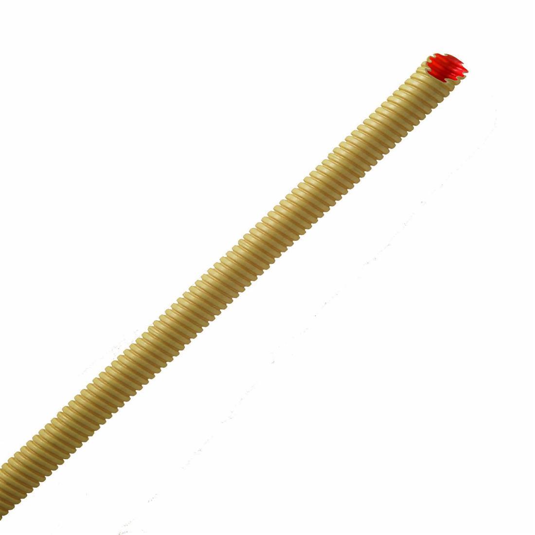 PIPELIFE Flexibele buis met extra gladde binnenlaag 25 mm creme - per rol 50 meter