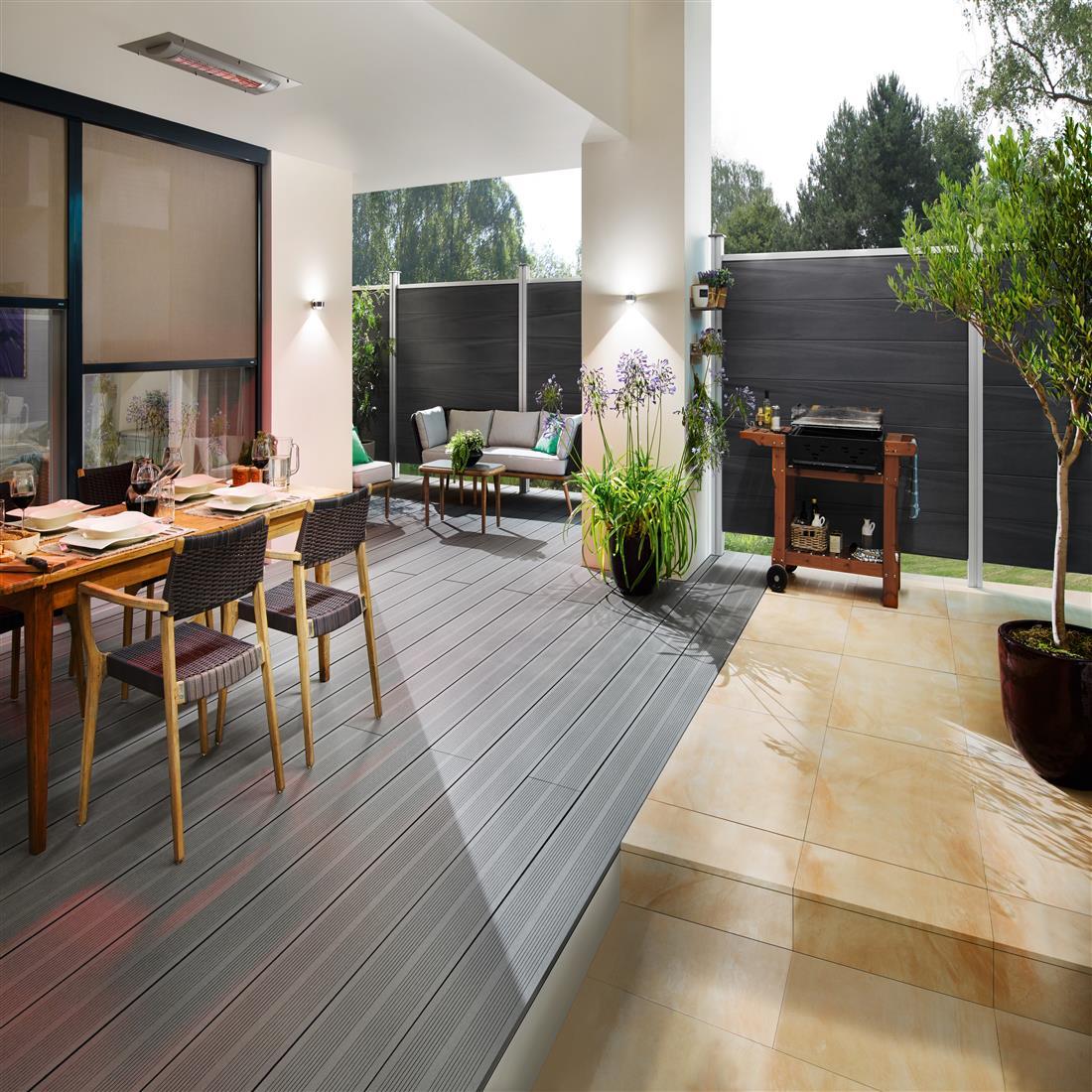 SOLAMAGIC plafondstraler premium luxe inbouwset SM-S3-2500W titanium