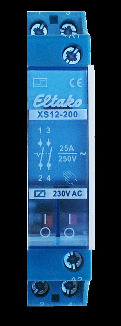 Eltako elektromechanische impulsschakelaar 25A (XS12-200)