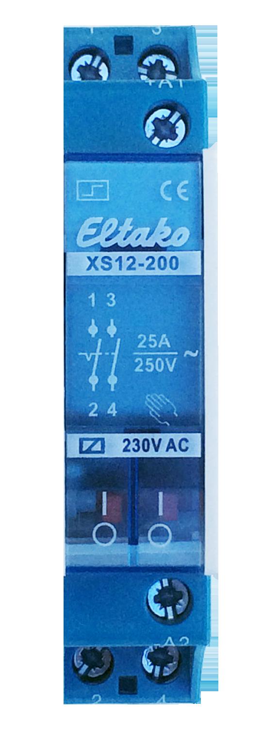 Eltako elektromechanische impulsschakelaar XS12-200 25A