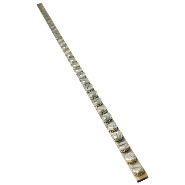 JMV aardrail 1 meter 125A 40xM8 (200052)
