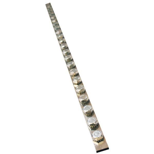 JMV aardrail 1 meter 200A 20xM5 (200200)