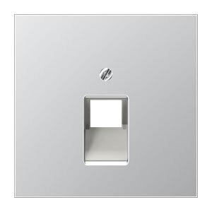 JUNG centraalplaat voor 1 x UAE/IAE - LS range aluminium (AL2969-1UA)
