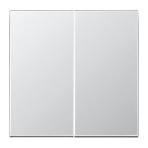 JUNG tweedelige wip - LS range aluminium (AL2995)