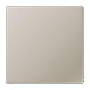 JUNG blindplaat met klembevestiging - LS range edelstaal (ES2994B)