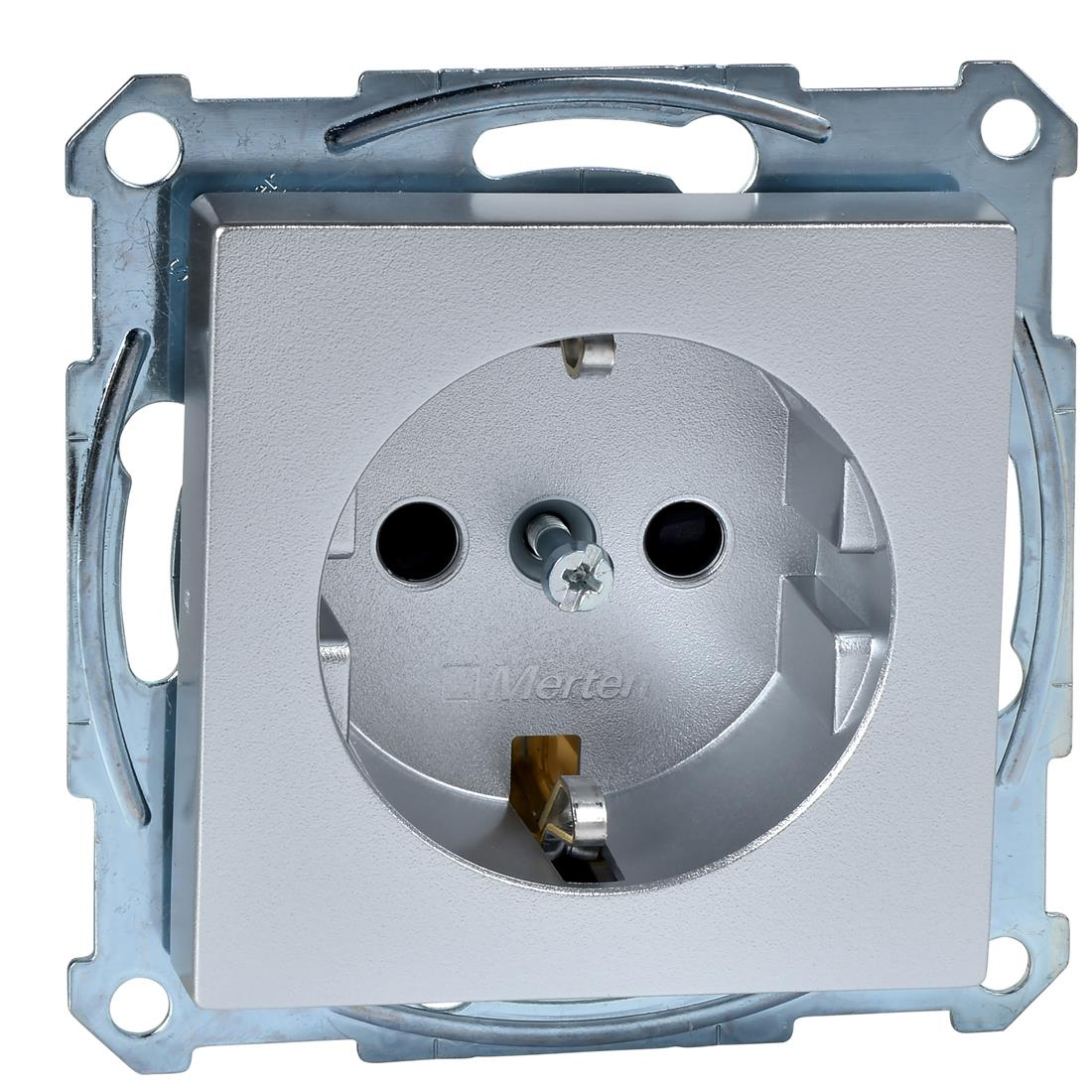 Schneider Electric Merten MTN2300-0460 MER WCD A 2P T ALUMINIUM SYSM