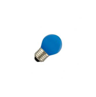 Led lamp 1W E27 blauw