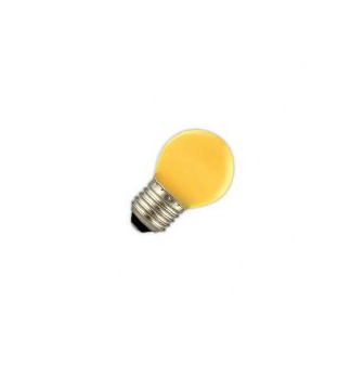 Led lamp 1W E27 geel