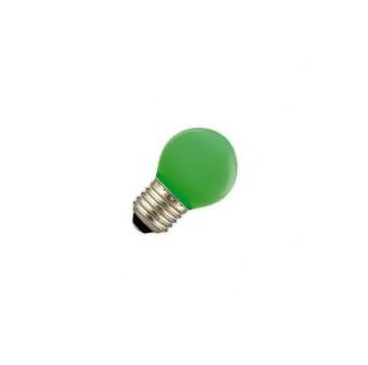 Led lamp 1W E27 groen